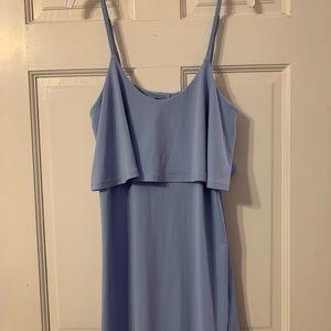 Express Blue Summer Dress